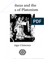Uzdavinys, A. (2010) Orpheus and the Roots of Platonism