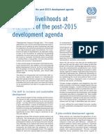 ILO Concept Note - 2015