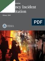 emergecy incident rehabilitatio-Rehab-Fema