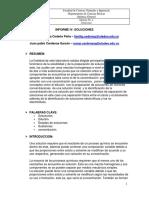 Informe IV;Soluciones