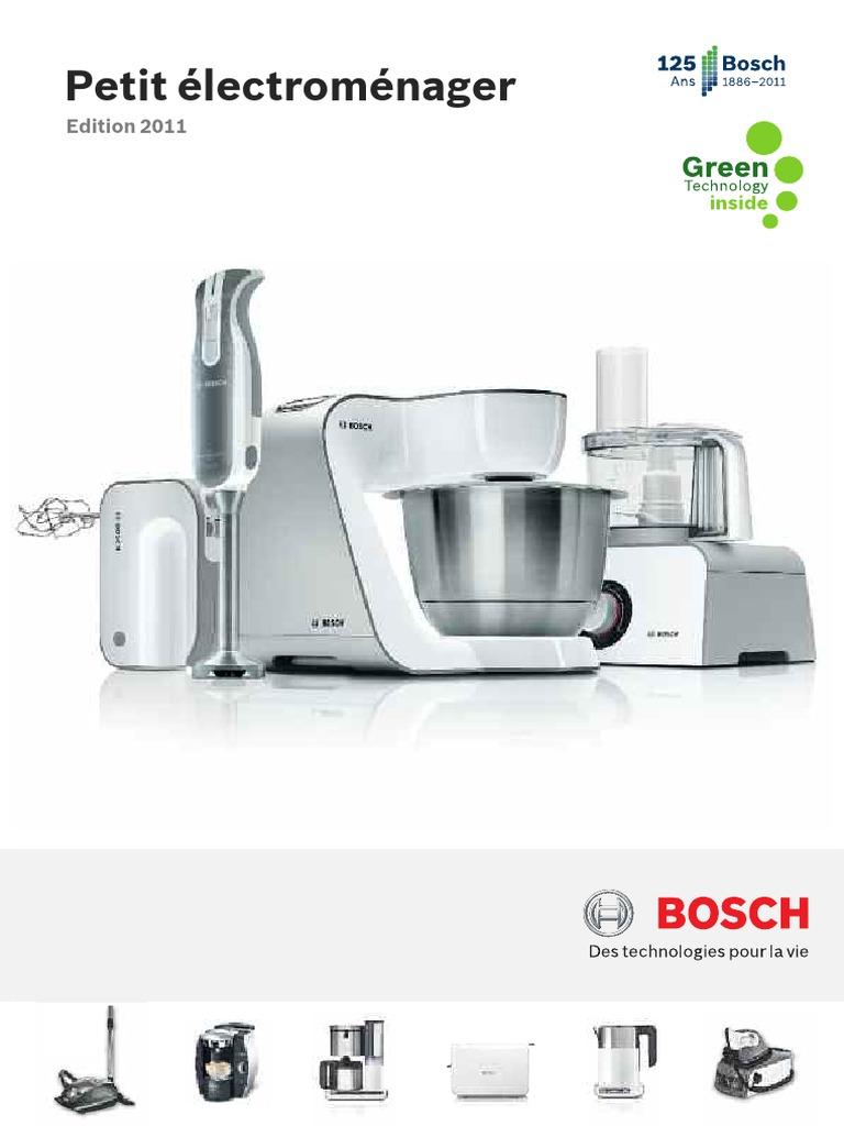 Petit Electromenager Cuisine Bosch Protection Couvercle