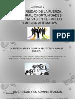 Diversidad de la Fuerza Laboral, Oportunidades Equitativas en el Empleo y Acción Afirmativa