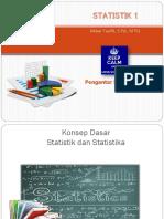 Sesi 1 - Pengantar Statistika