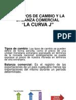 Los Tipos de Cambio y La Balanza Comercial Curva j