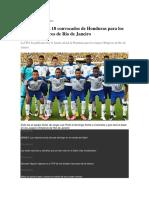Técnico de La Sub-20 de Honduras Arremete Contra Representante de Darixon Vuelto
