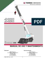 Manual Operaçoes e Manutenção a-A400-A450 Rev.09
