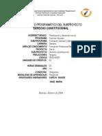 DERECHO CONSTITUCIONAL.pdf CONTENODO PROGRAMÁTICO DEL SUBPROYECTO UNELLEZ.pdf