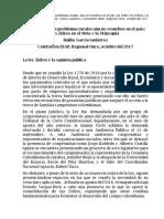 Evidencia de Los Problemas Rurales Aún No Resueltos en El País EGG