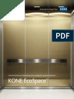 Kone Ecospace Brochure 2011