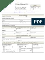 Formulario de Distribucion