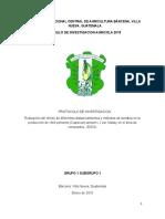 Chile Pimiento, Distanciamiento Grupo 1.1