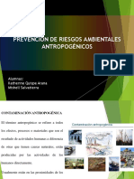 riesgos antropogenicos