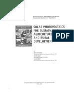 Solar Photovoltaic for SARD