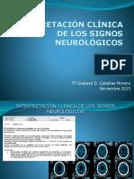 Interpretación Clinica de Los Signos Neurologicos