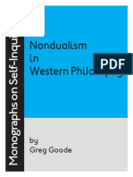 Nonduality Western Phil