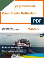 La Tecnologia en la efectividad de los procesos portuarios