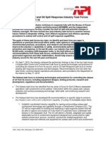 Subsea Well Control and Oil Spill Response Industry Task Forces Briefing Paper - 9.7.10