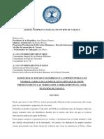 Alerta Temprana Para Tarazá y Bajo Cauca-05!02!18