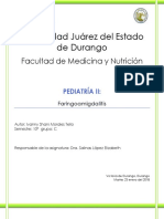 Faringoamigdalitis. Ivanny Shani Morales Tello 10C