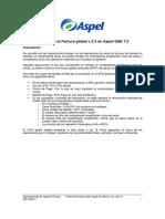 Facturación Global de Notas de Venta Con Aspel SAE 7.0