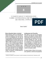 CCcomentarios y reflexiones sobre el antimnual de filosofia de onfray.pdf