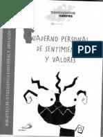 CUADERNO PERSONAL DE SENTIMIENTOS Y VALORES ...pdf