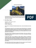 14 Incas Del Tahuantinsuyo