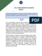Elementos de La Teoría General Del Derecho Público