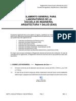 Reglamento General Laboratorios EIAS