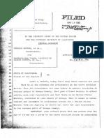 Affidavit of David C Marcus