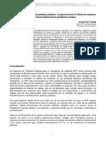 Instrumentos de Análisis de Políticas Públicas
