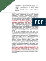 Fetichismo de Las Matematicas Aplicadas en Economía