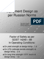 Equipment Design as Per Russian Norms_20090218