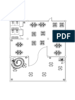 2nd Floor Plan Model