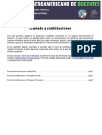 Contribuciones Primer Congreso Iberoamericano de Docentes