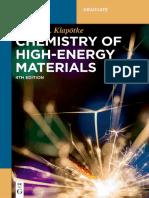 Chemistry of High-Energy