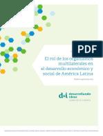 150826 DI Informe Multilaterales ESP
