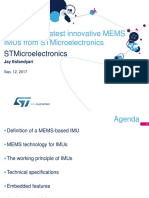 Discover the Latest Innovative Mems Inertial Measurement Units Imus From Stmicroelectronics