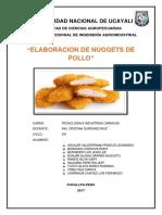 Nuguetts de Pollo