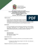 Programa -Procesos Politicos  en América Latina- 2018-1