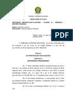 RESOLUÇÃO Nº 23.554 - Atos Preparatorios Para as Eleiçoes 2018