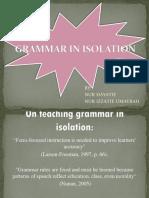 Grammar in Isolation Full