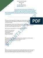 Mock Test-free for Mrcp(Uk)-1 by Sumanta Sir_s Mrcp
