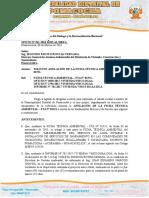 Oficio AnuSOLICITO ANULACIÓN DE LA FICHA TÉCNICA AMBIENTAL – FTA Nº