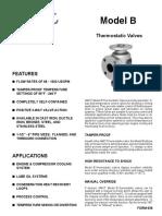 AMOT VALVE - Caracteristicas Tecnicas y Lista de Partes