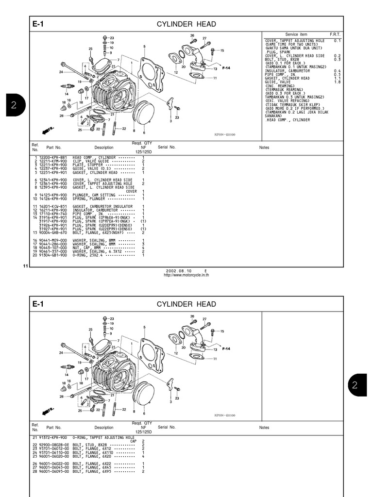 Honda wave parts manual en sciox Images