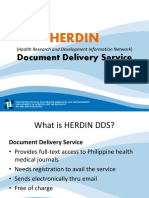 HERDIN Document Delivery Service Guide