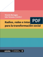Radios, redes e internet para la transformación social