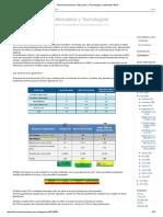 Telecomunicaciones_ Mercados y Tecnologías_ Septiembre 2016