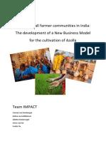 Azolla Study Report